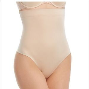 Suit your fancy high waist thong new